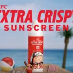 KFC がフライドチキンの香りがする日焼け止めを製品化
