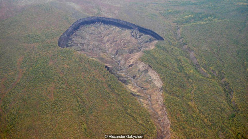人類の終焉? シベリアで広がり続ける【冥土の穴】