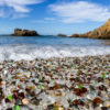 【シーグラス】で埋め尽くされたビーチ【カルフォルニア】